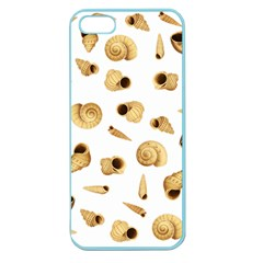 Shell Pattern Apple Seamless Iphone 5 Case (color) by Valentinaart