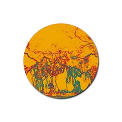 Colors Rubber Coaster (round)  by Valentinaart