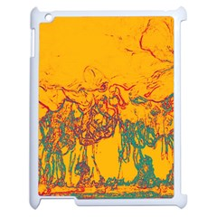 Colors Apple Ipad 2 Case (white) by Valentinaart