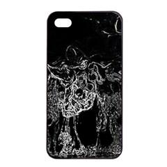 Colors Apple iPhone 4/4s Seamless Case (Black)