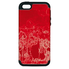 Colors Apple Iphone 5 Hardshell Case (pc+silicone) by Valentinaart