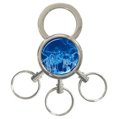 Colors 3 Ring Key Chains