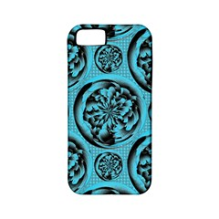 Turquoise Pattern Apple Iphone 5 Classic Hardshell Case (pc+silicone) by linceazul