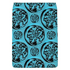 Turquoise Pattern Flap Covers (l)  by linceazul