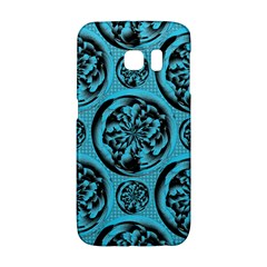 Turquoise Pattern Galaxy S6 Edge by linceazul