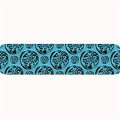Turquoise Pattern Large Bar Mats by linceazul