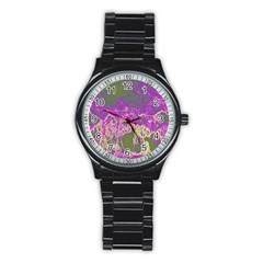 Colors Stainless Steel Round Watch by Valentinaart