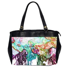 Colors Office Handbags (2 Sides)  by Valentinaart