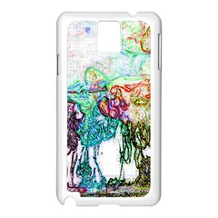 Colors Samsung Galaxy Note 3 N9005 Case (white) by Valentinaart