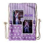 Sleep Over - Drawstring Bag (Large)