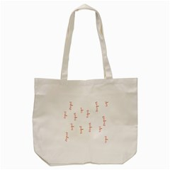 Animal Dragonfly Fly Pink Tote Bag (cream) by Mariart
