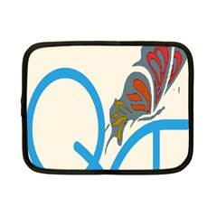 Butterfly Netbook Case (small)  by Mariart