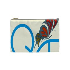 Butterfly Cosmetic Bag (medium)  by Mariart
