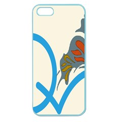 Butterfly Apple Seamless Iphone 5 Case (color) by Mariart