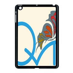 Butterfly Apple Ipad Mini Case (black) by Mariart