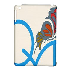 Butterfly Apple Ipad Mini Hardshell Case (compatible With Smart Cover) by Mariart
