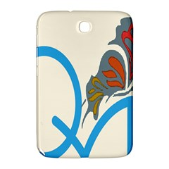 Butterfly Samsung Galaxy Note 8 0 N5100 Hardshell Case  by Mariart