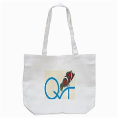 Butterfly Tote Bag (white) by Mariart