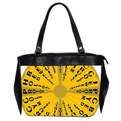 Wheel Of Fortune Australia Episode Bonus Game Office Handbags (2 Sides)  by Mariart