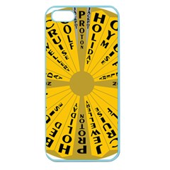 Wheel Of Fortune Australia Episode Bonus Game Apple Seamless Iphone 5 Case (color) by Mariart