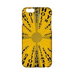 Wheel Of Fortune Australia Episode Bonus Game Apple Iphone 6/6s Hardshell Case by Mariart