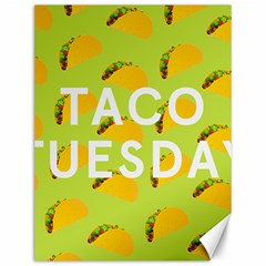 Bread Taco Tuesday Canvas 12  X 16   by Mariart