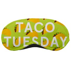 Bread Taco Tuesday Sleeping Masks by Mariart