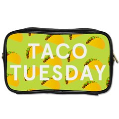 Bread Taco Tuesday Toiletries Bags 2 Side by Mariart