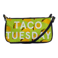 Bread Taco Tuesday Shoulder Clutch Bags by Mariart