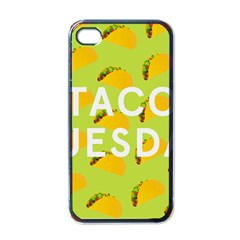 Bread Taco Tuesday Apple Iphone 4 Case (black) by Mariart