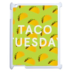 Bread Taco Tuesday Apple Ipad 2 Case (white) by Mariart