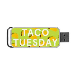 Bread Taco Tuesday Portable Usb Flash (one Side) by Mariart