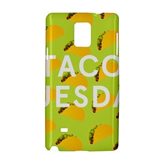 Bread Taco Tuesday Samsung Galaxy Note 4 Hardshell Case by Mariart