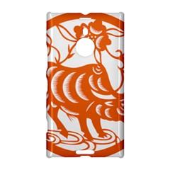 Chinese Zodiac Cow Star Orange Nokia Lumia 1520 by Mariart