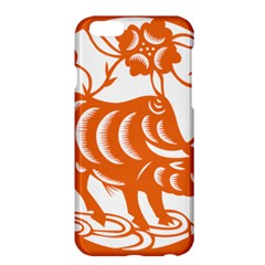 Chinese Zodiac Cow Star Orange Apple Iphone 6 Plus/6s Plus Hardshell Case by Mariart