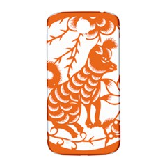 Chinese Zodiac Dog Star Orange Samsung Galaxy S4 I9500/i9505  Hardshell Back Case by Mariart