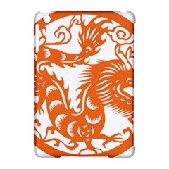 Chinese Zodiac Dragon Star Orange Apple Ipad Mini Hardshell Case (compatible With Smart Cover) by Mariart
