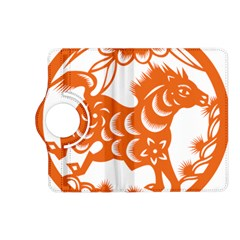 Chinese Zodiac Horoscope Horse Zhorse Star Orangeicon Kindle Fire Hd (2013) Flip 360 Case by Mariart