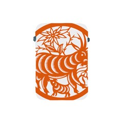 Chinese Zodiac Goat Star Orange Apple Ipad Mini Protective Soft Cases by Mariart
