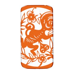 Chinese Zodiac Horoscope Monkey Star Orange Samsung Galaxy S4 I9500/i9505  Hardshell Back Case by Mariart