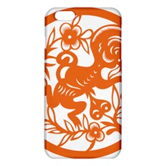 Chinese Zodiac Horoscope Monkey Star Orange Iphone 6 Plus/6s Plus Tpu Case by Mariart