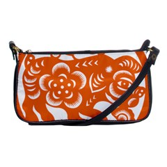 Chinese Zodiac Horoscope Pig Star Orange Shoulder Clutch Bags