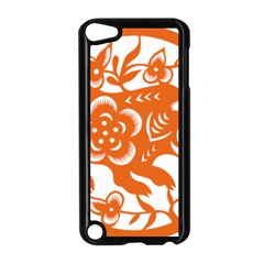 Chinese Zodiac Horoscope Pig Star Orange Apple Ipod Touch 5 Case (black) by Mariart