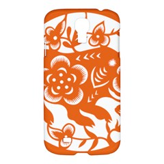 Chinese Zodiac Horoscope Pig Star Orange Samsung Galaxy S4 I9500/i9505 Hardshell Case by Mariart