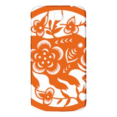 Chinese Zodiac Horoscope Pig Star Orange Samsung Galaxy Mega I9200 Hardshell Back Case by Mariart