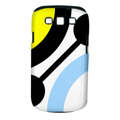 Circle Line Chevron Wave Black Blue Yellow Gray White Samsung Galaxy S Iii Classic Hardshell Case (pc+silicone) by Mariart