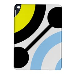 Circle Line Chevron Wave Black Blue Yellow Gray White Ipad Air 2 Hardshell Cases by Mariart