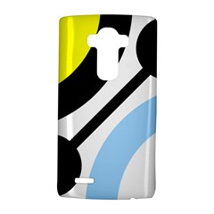 Circle Line Chevron Wave Black Blue Yellow Gray White Lg G4 Hardshell Case by Mariart