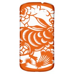 Chinese Zodiac Horoscope Rabbit Star Orange Samsung Galaxy S3 S Iii Classic Hardshell Back Case by Mariart