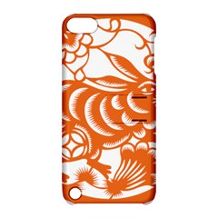 Chinese Zodiac Horoscope Rabbit Star Orange Apple Ipod Touch 5 Hardshell Case With Stand by Mariart
